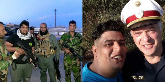 Syrian Refugees Before And After Migrating To Europe (14 pics)