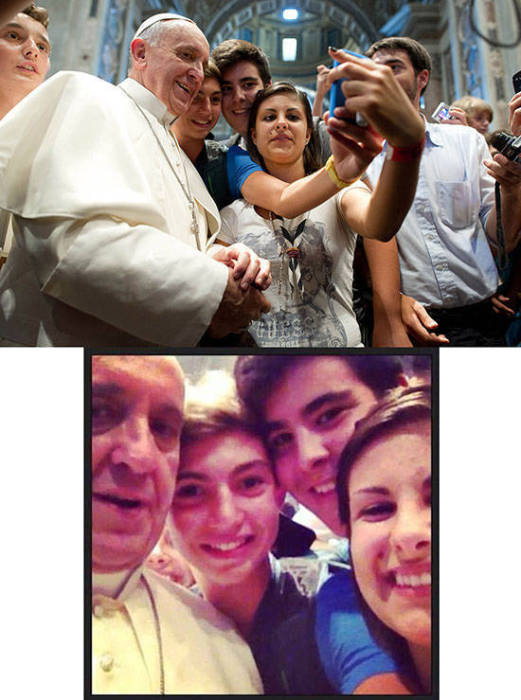 Pictures That Prove Pope Francis Is A Real Saint (26 pics)