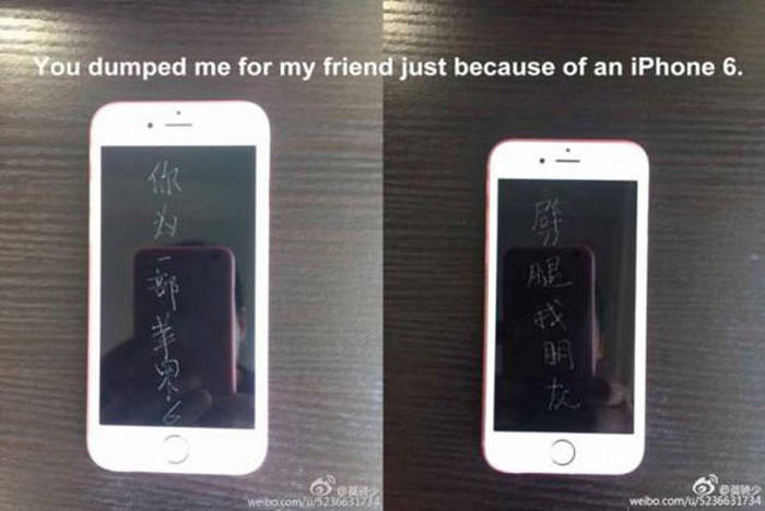 Guy Buys 9 iPhones To Get Back At His Ex Girlfriend (7 pics)