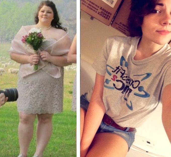 Incredible And Inspirational Weight Loss Transformations (18 pics)
