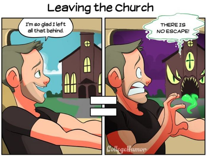 How You Look At The World When You Grow Up Catholic (8 pics)