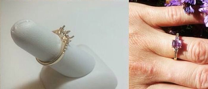 Man Digs Up Gold And Creates Custom Engagement Ring For His Fiance (6 pics)