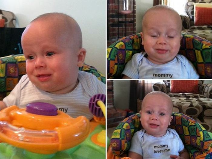Babies Make The Funniest Faces When They Poop (15 pics)