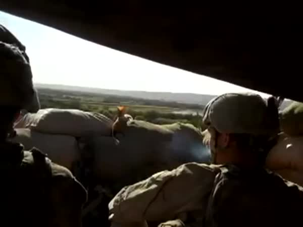Soldiers Singing And Fighting