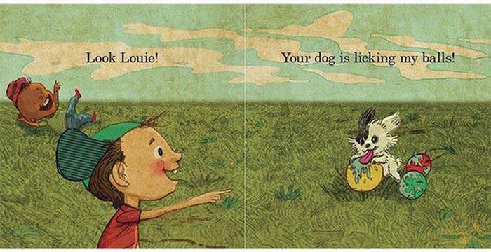 This Children's Book About Balls Is Definitely Not Appropriate For Kids (8 pics)