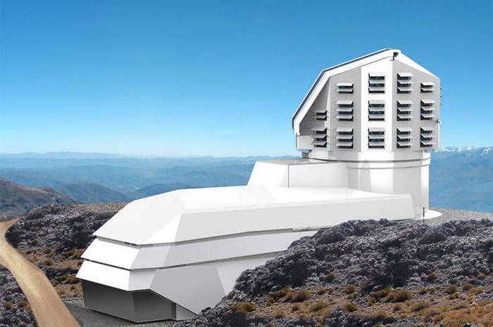 Massive Camera Being Built On A Mountain Top Will Be The Largest In The World (6 pics)