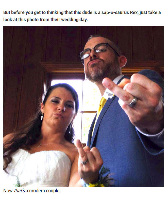A Random Facebook Glitch Helped This Couple Find True Love (5 pics)