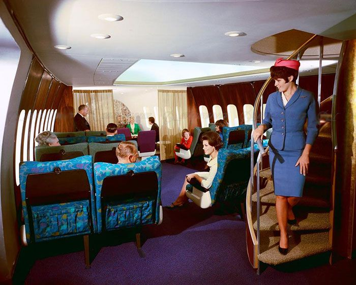This Is What First Class Looked Like In The 50s (10 pics)