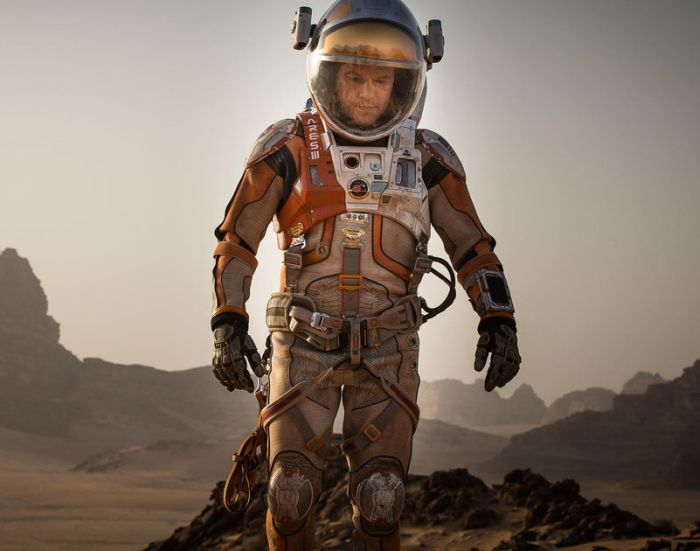 Comparing The Suit From The Martian To NASA's Prototype For Mars Exploration (3 pics)