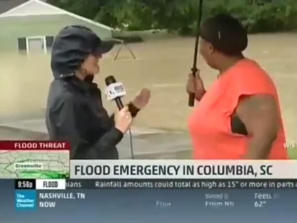 Best Flood News Interview
