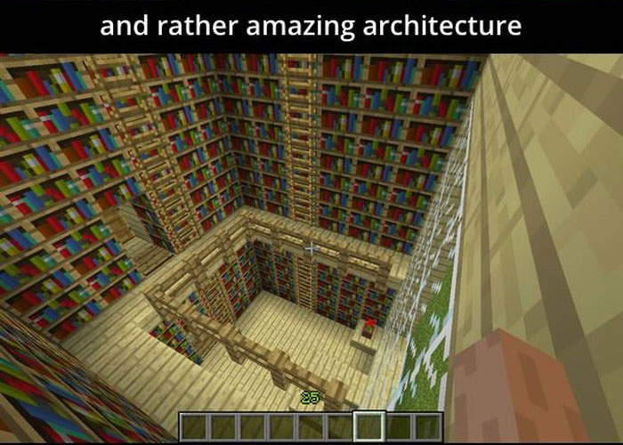Girl With Autism Creates Incredible Kingdom In Minecraft (58 pics)