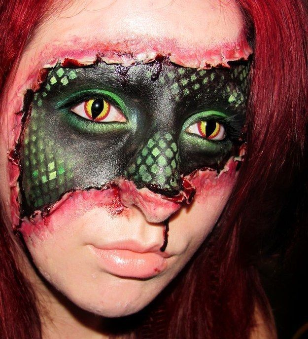 Impressive Halloween Makeup That Will Give You The Chills (26 pics)