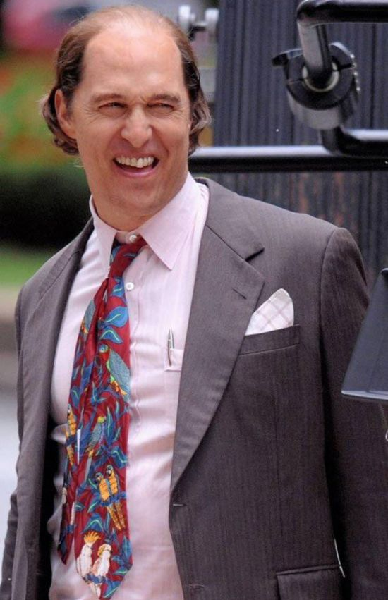 Matthew McConaughey Packs On The Pounds For New Film Role (3 pics)
