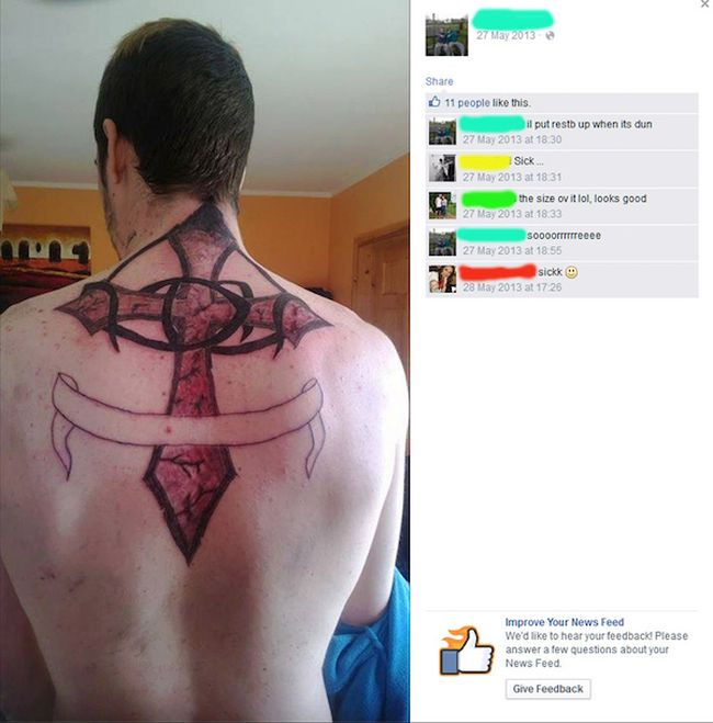These Are The Worst Tattoos Your Eyes Will Ever See (21 pics)