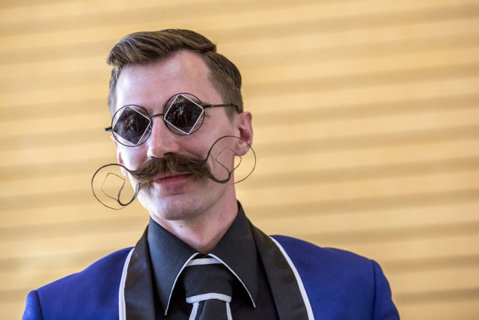 The Most Epic Facial Hair From The 2015 World Beard And Moustache Championships (15 pics)
