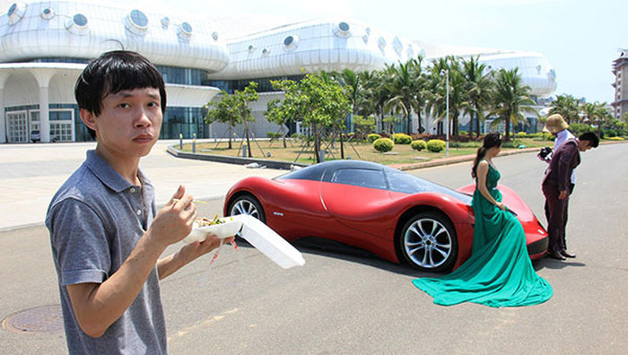 27 Year Old Chinese Engineer Builds Homemade Super Car (14 pics)