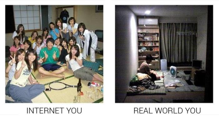 How You Act On The Internet Compared To How You Act In Real Life (19 pics)
