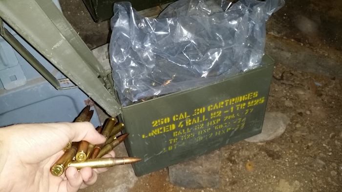Secret Room In New House Is Loaded With Ammo (14 pics)
