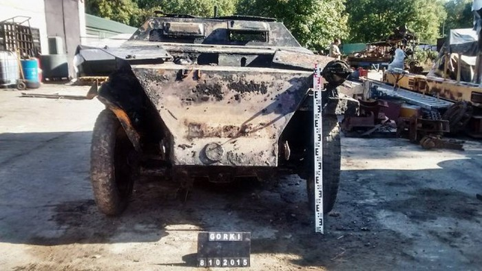 Wehrmacht War Machine Found In River After 70 Years (32 pics)