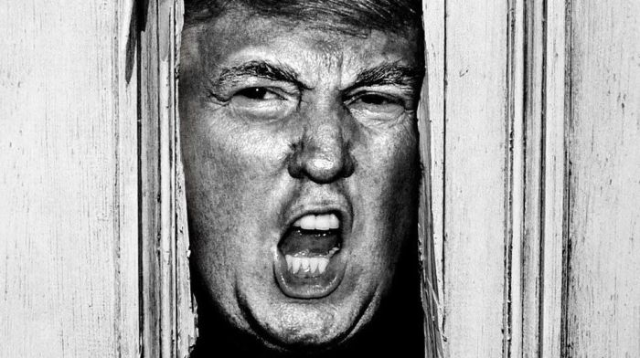 Donald Trump In Famous Horror Movie Scenes Is The Scariest Thing Ever (12 pics)