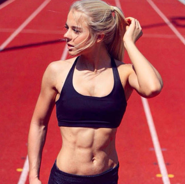 This Gorgeous German Sprinter Is The Next Big Sensation On Instagram (20 pics)