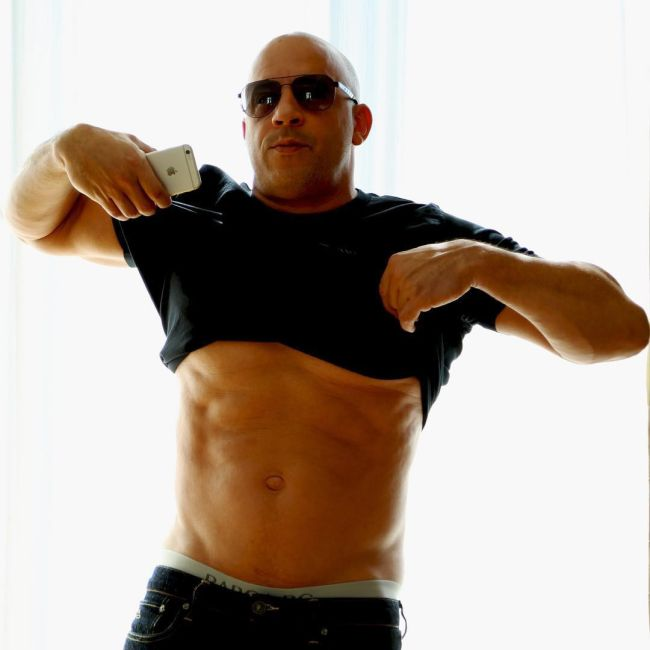 Vin Diesel Reacts To People Saying He Has A 'Dad Bod' (7 pics)