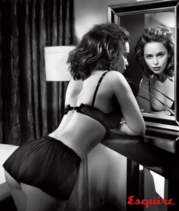 Emilia Clarke Named Sexiest Woman Alive 2015 By Esquire (12 pics)
