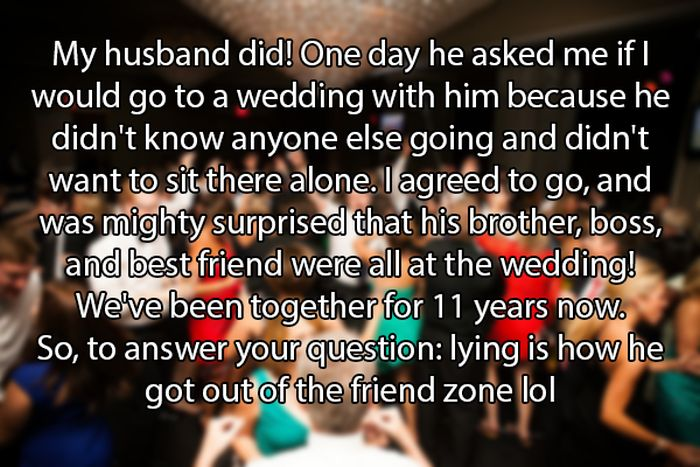 True Stories Of Brave Men Who Found A Way Out Of The Friend Zone (11 pics)
