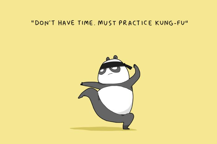 Excuses Pandas Give When They Don't Want To Have Sex (12 pics)