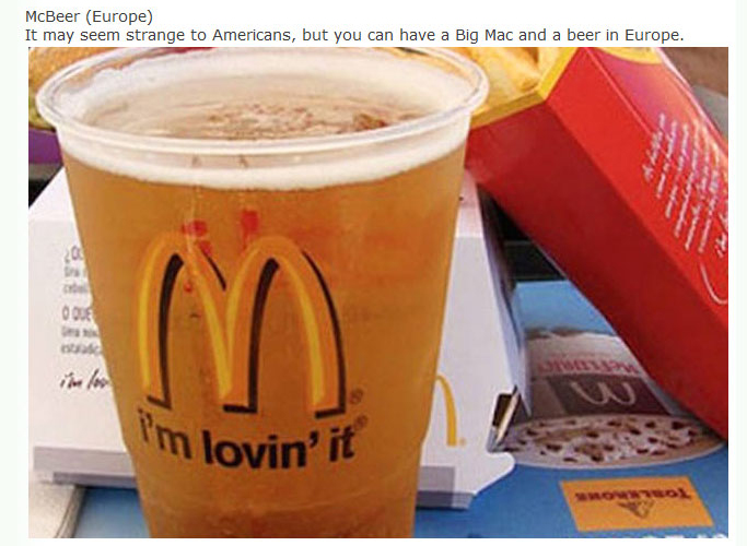 Real McDonald's Meals That You Can Get Around The World (25 pics)