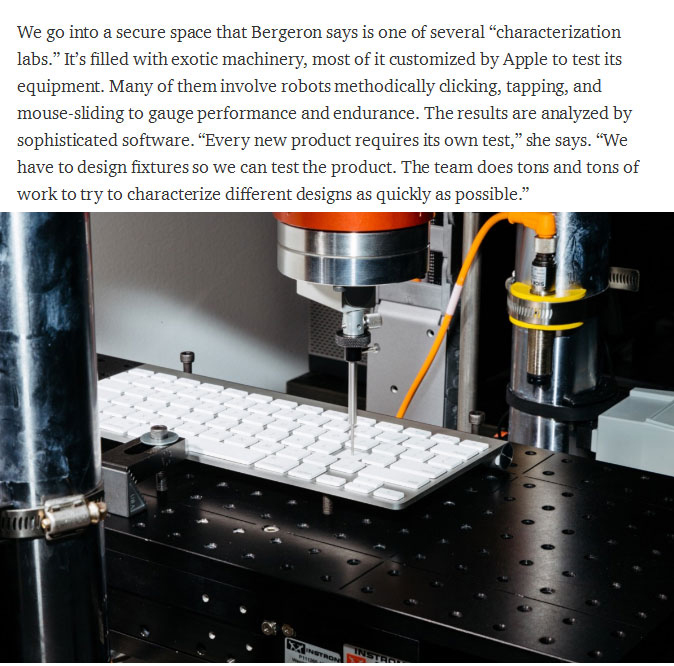 Go Behind The Scenes At Apple's Top Secret Input Lab (13 pics)