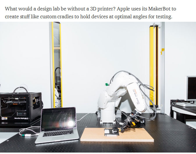 Go Behind The Scenes At Apple's Top Secret Input Lab (13 pics)