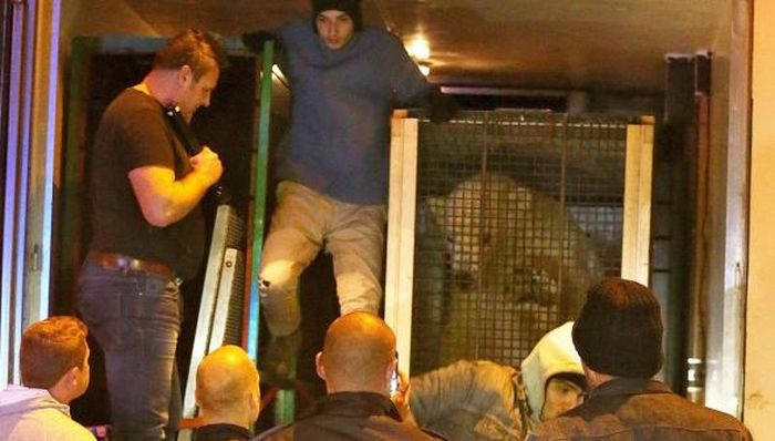 Migrants Find A Shocking Surprise In The Back Of A Truck (2 pics)