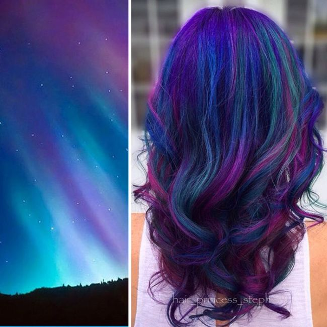 This Galaxy Hair Trend Is Taking Over The Universe (16 pics)