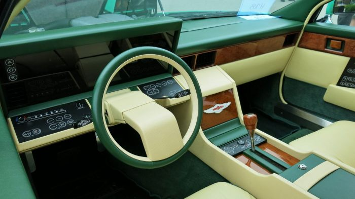 The Interior Of An Aston Martin Lagonda Is Out Of This World (5 pics)