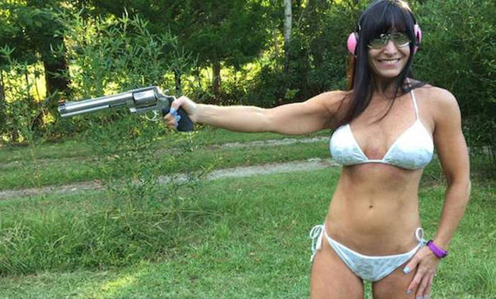 A 49 Year Old Woman Is Bringing Home Big Money Making Videos In A Bikini (10 pics)
