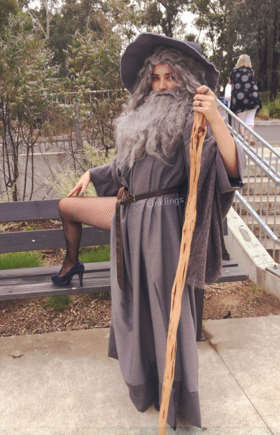 Sexy Gandalf Is One Of This Year's Hottest Costumes (4 pics)