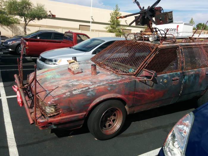This Mad Max Style Car Is Roaming The Streets (8 pics)