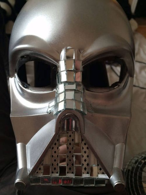 It Turns Out That Darth Vader's Helmet Makes An Awesome Disco Ball (10 pics)