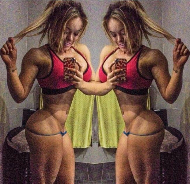 Woman Shows What Happens When You Work Out For Four Hours A Day (8 pics)