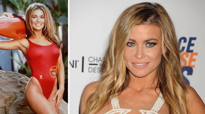 The Cast Of Baywatch Back In The Day And Today  (10 pics)