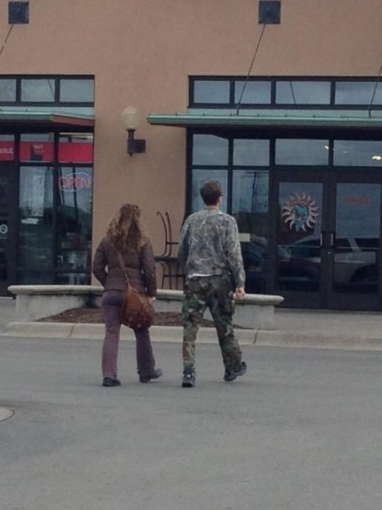 Proof That Camouflage Can Hide Anything (21 pics)