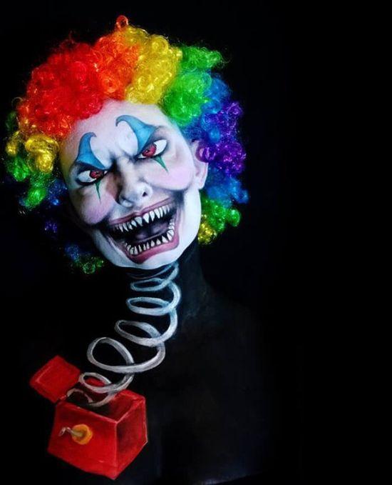 Artist Uses Makeup To Create Creepy Monsters For Halloween (23 pics)