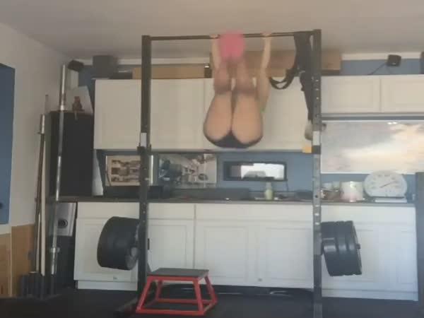 Busty Girl Training