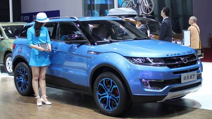 Cheap Chinese Car Knockoffs That Are Way Too Close To The Real Thing (15 pics)