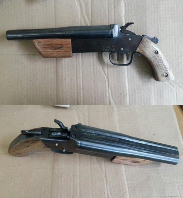 A Deadly Arsenal Of Home Made Guns (40 pics)