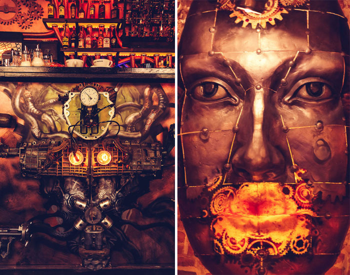 First Ever Kinetic Steampunk Bar Opens In Romania (12 pics)