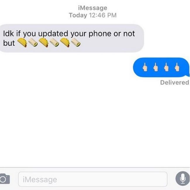 That Awkward Moment When You Get A Text From Your Ex (17 pics)