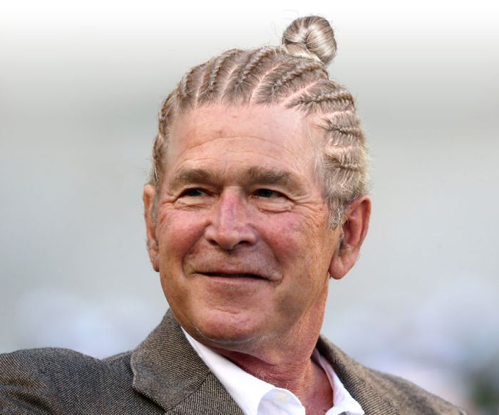 What World Leaders Would Look Like If They Started Wearing Man Buns (7 pics)