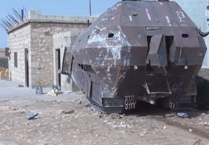 These Syrian Military Cars Can Take Down Anything (11 pics)